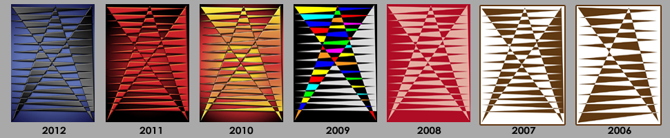 2006 - 2012 Mayor's Arts Award Design by Lis J. Schwitters